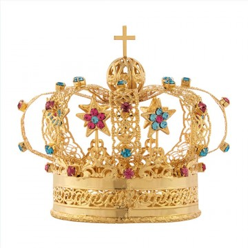 Corona per Statua in Ottone