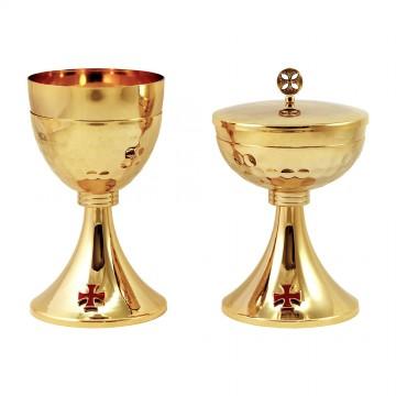 Calice e Pisside con Croce...