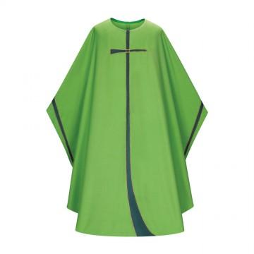 Casula Verde con Croce...