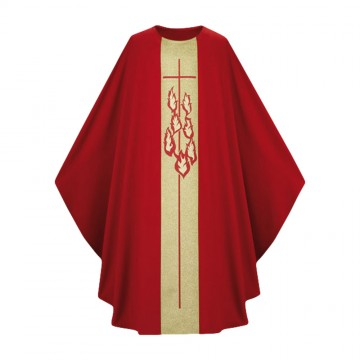 Casula Monastica Rossa e...