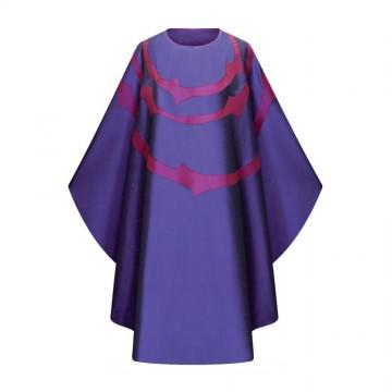 Casula Viola in Misto Seta