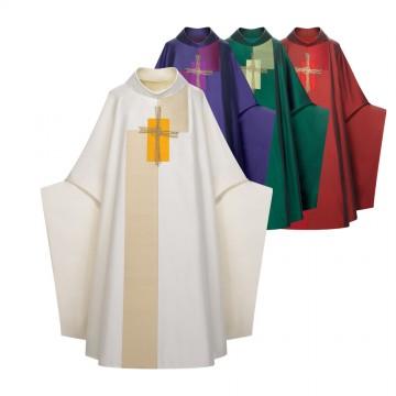 Casula Liturgica in MIsto Seta