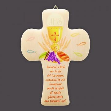 Croce Legno Simboli Prima...