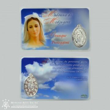 Card Madonna di Medjugore