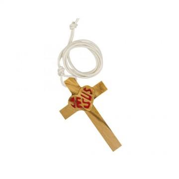 Croce in Legno con Scritta...