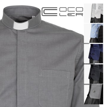 Camicia Clergy Diagonale in...