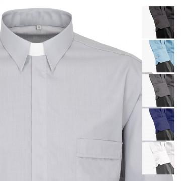 Camicia da Sacerdote Manica...