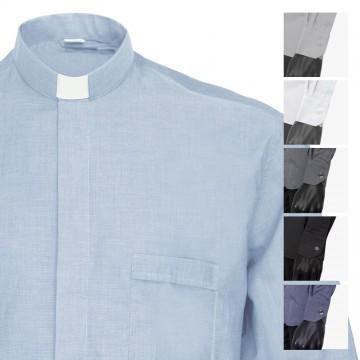 Camicia Clergy Manica Lunga...