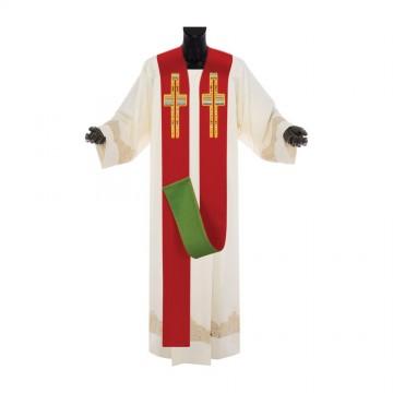 Stola Sacerdote Rossa e Verde
