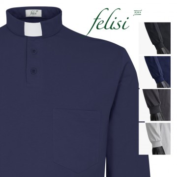 Polo Clergy Jersey Manica...