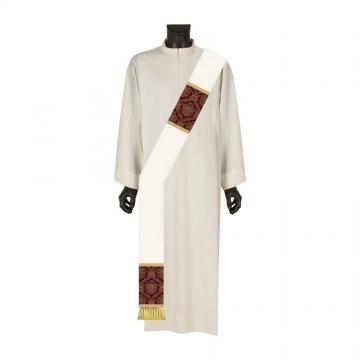 Stola Diaconale Bianca con...