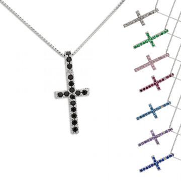 Collana con Croce Filo in...