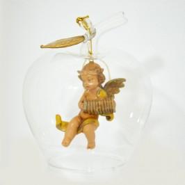 Campana vetro con Angelo