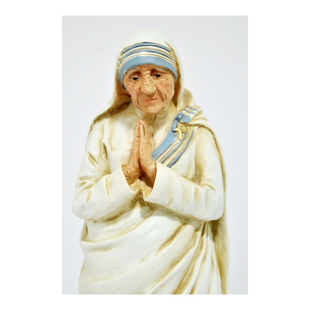 Madre Teresa di Calcutta resina cm. 23