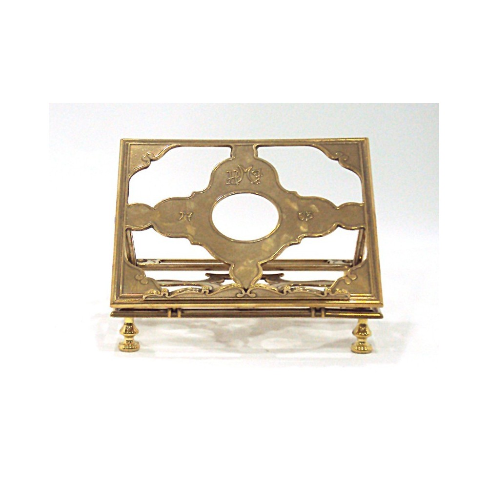 Leggio ottone dorato cm. 24x28