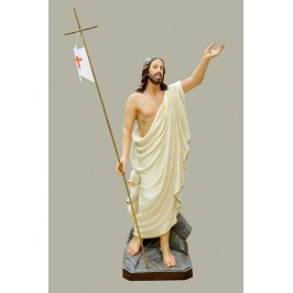 Statua Gesù Risorto 100 cm