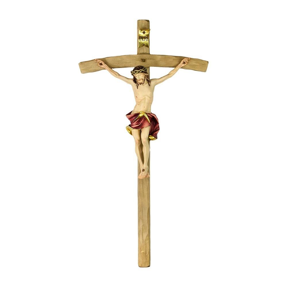 Croce Curva con Corpo di Cristo