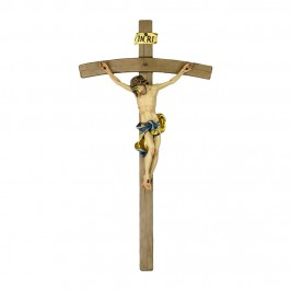 Crocifisso Curvo e Cristo Barocco