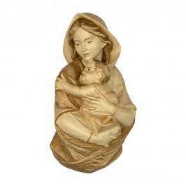 Madonna con Bambino in Legno da Parete