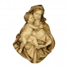 Rilievo Busto Madonna con Bambino