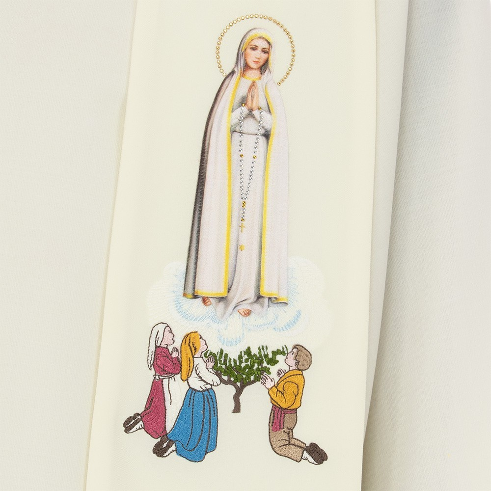 Stola Mariana Ricamo Madonna di Fatima