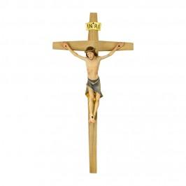 Cristo Moderno su Croce in Legno