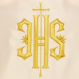 Velo Omerale Avorio Ricamo JHS