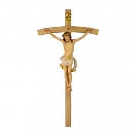 Crocifisso Curvo con Corpo di Cristo