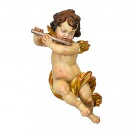 Angelo con Flauto in Legno