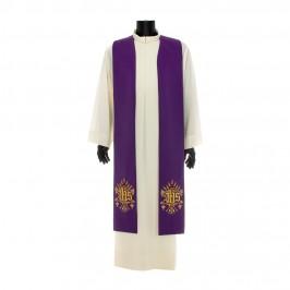 Stola per Sacerdote con Ricamo JHS