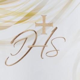 Coprileggio Avorio Ricamo JHS