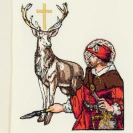 Stola Sacerdotale Ricamo Santo Hubert
