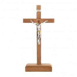 Crocifisso in Legno e Cristo in Resina