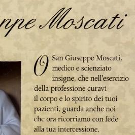 Statua San Giuseppe Moscati in Confezione Regalo