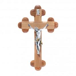 Crocifisso Croce Trilobata in Legno