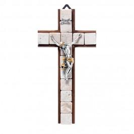 Croce in Legno e Pietre