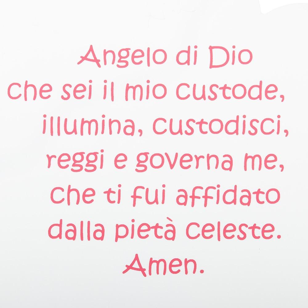 Nuvoletta con Preghiera Angelo di Dio