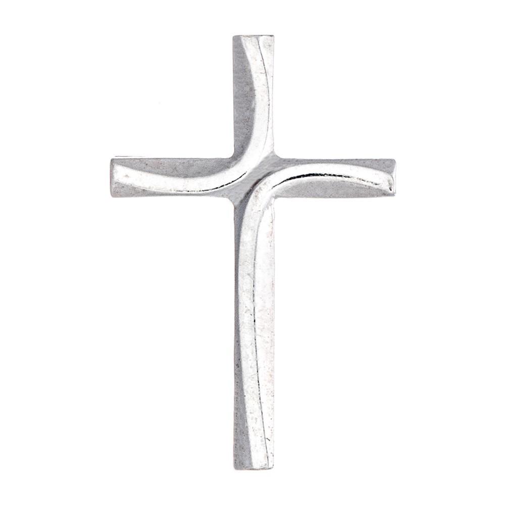 Croce con Spilla in Argento 925