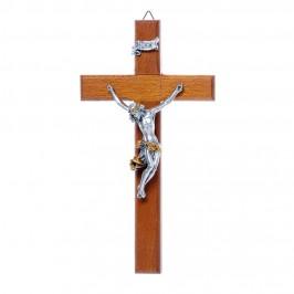 Crocifisso in Legno H 17,5 cm