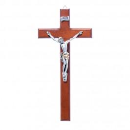 Crocifisso Legno H 23 cm