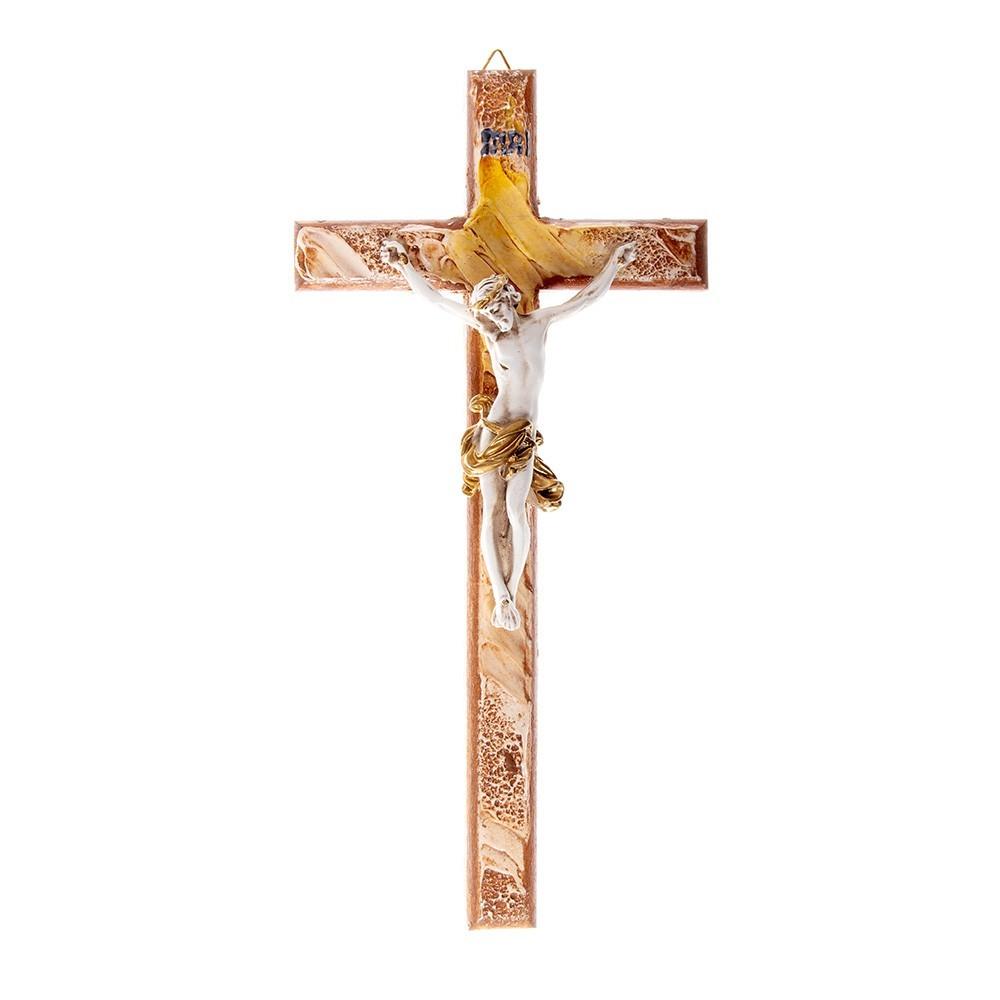 Croce in Legno con Decori