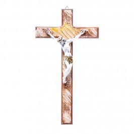 Crocifisso in Legno con Decori