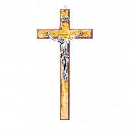 Croce in Legno Decorato