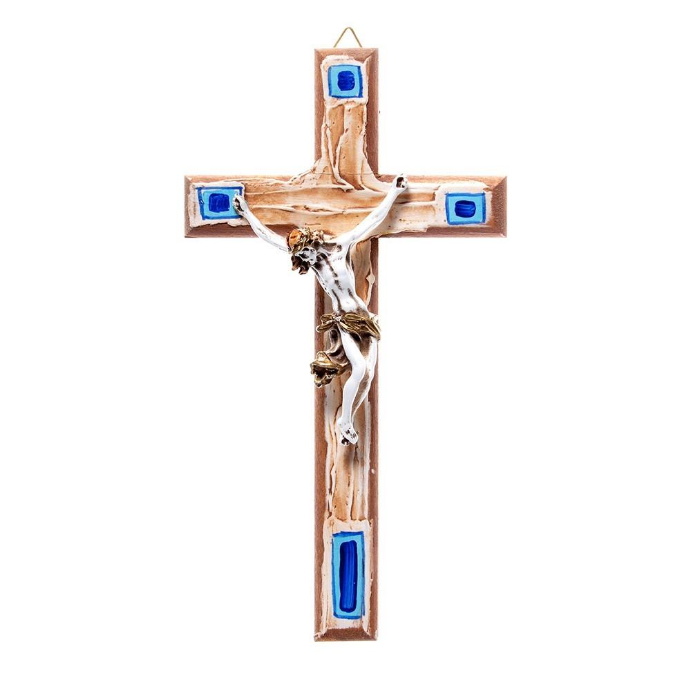 Croce Legno Dipinta