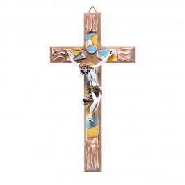 Crocifisso in Legno Dipinto