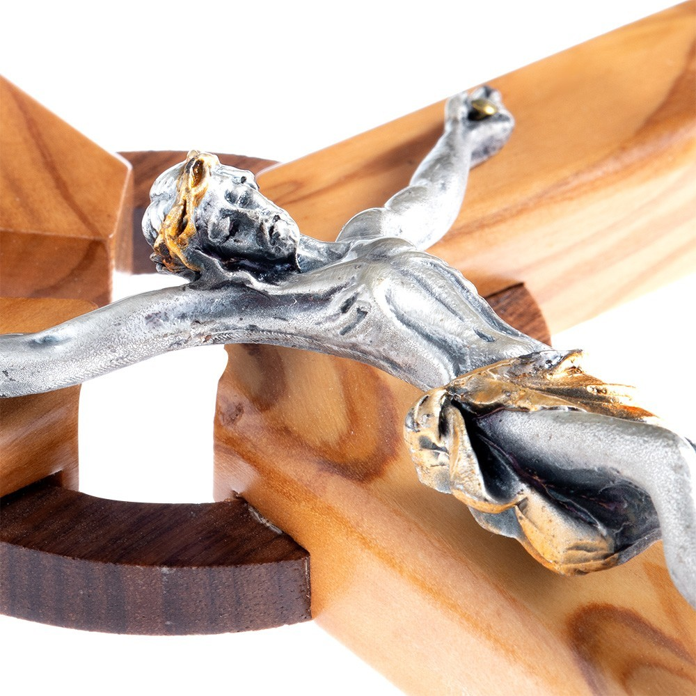 Crocifisso in Legno H 24,5 cm