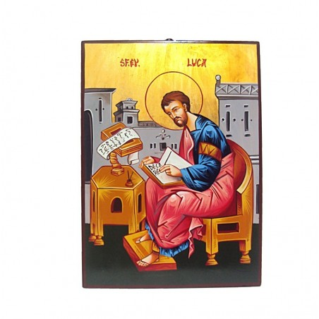 ICONA SAN LUCA EVANGELISTA 32 X 44