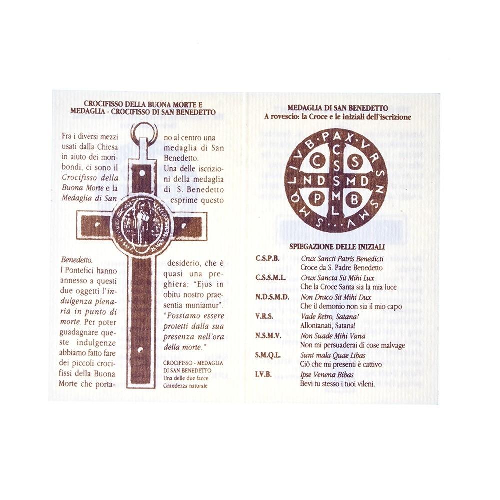 Crocifisso San Benedetto in Legno d'Ulivo
