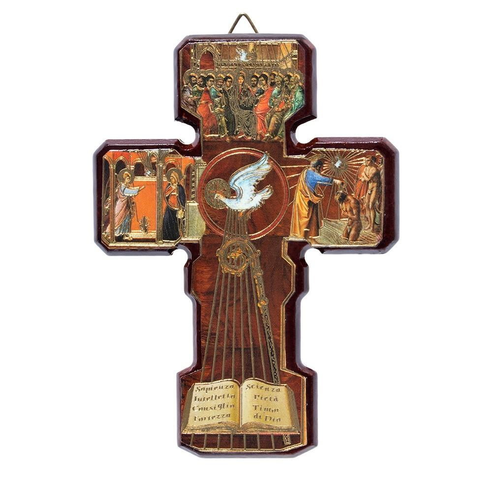 Croce Legno Spirito Santo