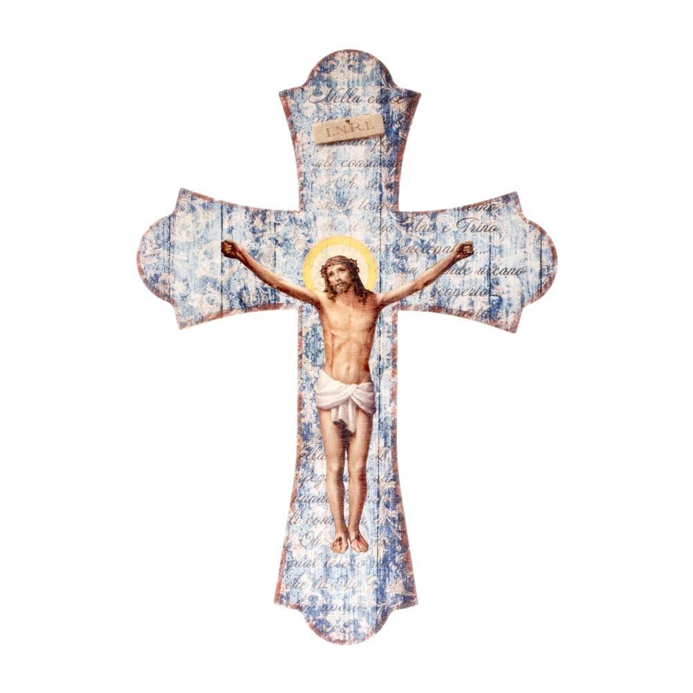 Crocifisso in Legno Stile Vintage